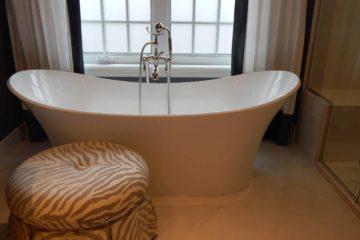 Badewanne zum Entspannen